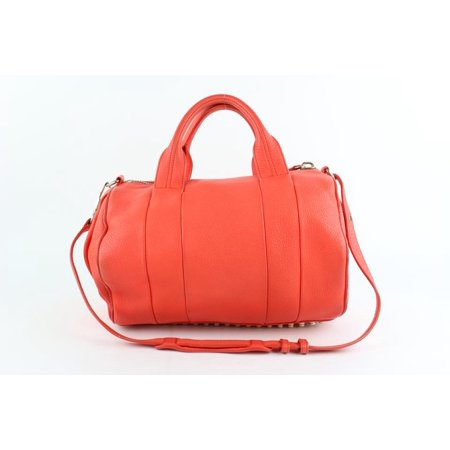 Alexander Wang Coral Pebbled Lamb Rocco 2way 9mz1025