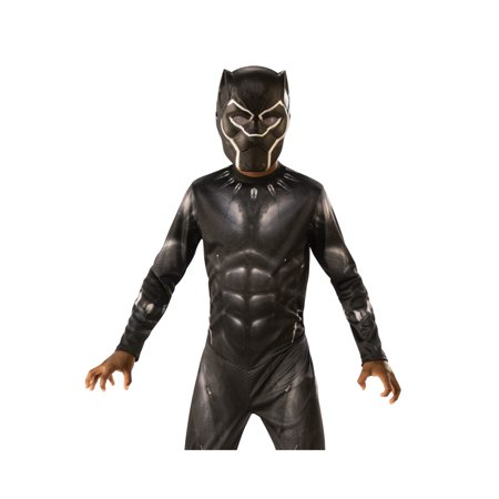 Marvel Black Panther Movie Black Panther Child 3/4 Mask Halloween Costume Accesory](Awesome Halloween Costumes From Movies)