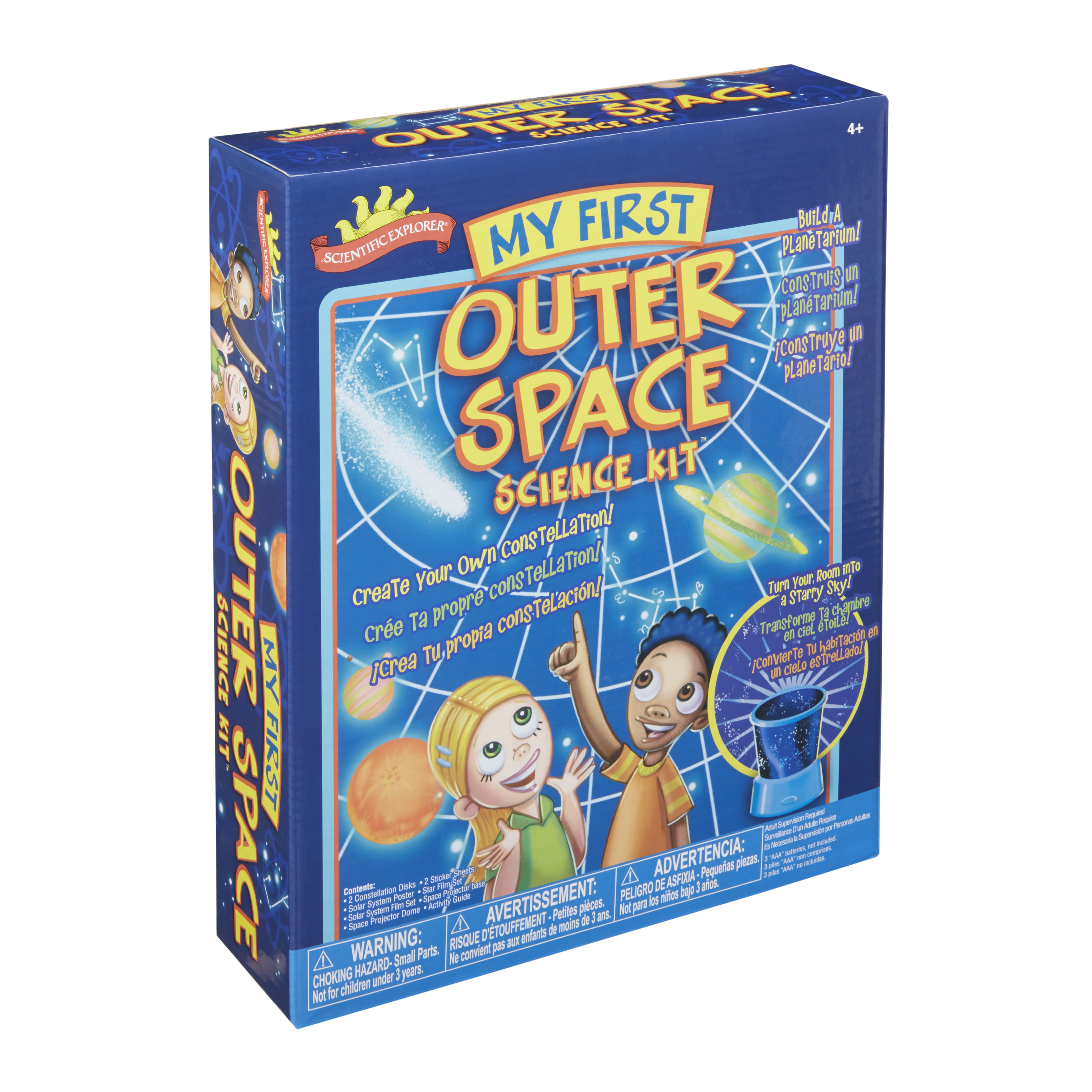 Click here to buy Scientific Explorer My First Outer Space Science Kit by Alex Brands.