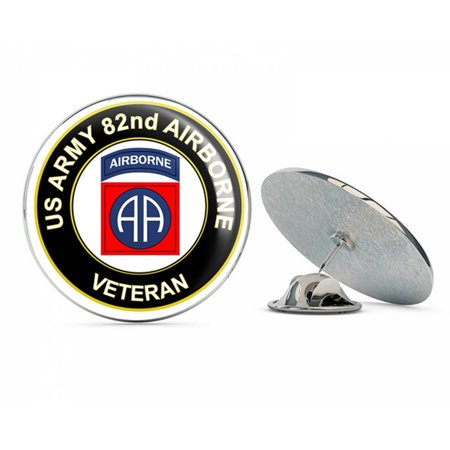 Airborne Army Hat Pins (U.S. Army Veteran 82nd Airborne Metal 0.75