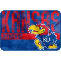 "NCAA Kansas Jayhawks 20"" x 30"" ""Worn Out"" Mat, 1 Each"