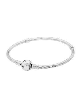 Disney sterling silver Mickey bracelet w/clear CZ Bracelet 19 cm 590731CZ-19