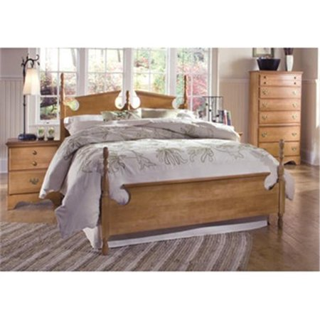 Carolina Furniture Works 157853 Footboard Panel 4 6 5 0 Salem Maple