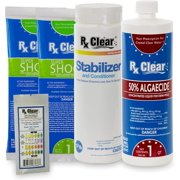 Rx Clear Spring Start-up Pool Chemical Kit - Up to 15,000 Gallons