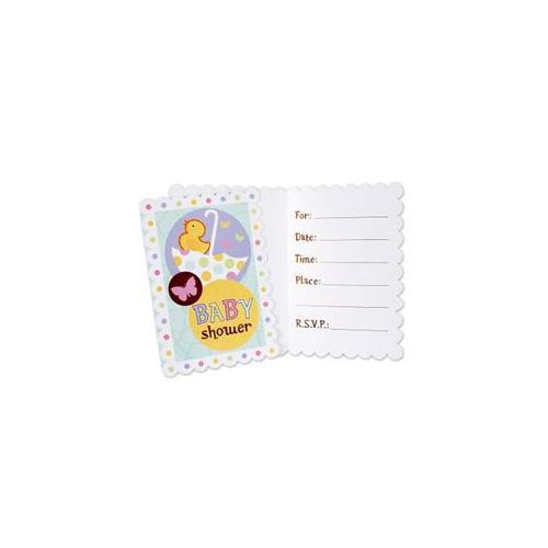 Amscan 190195 Tiny Bundle Invitations