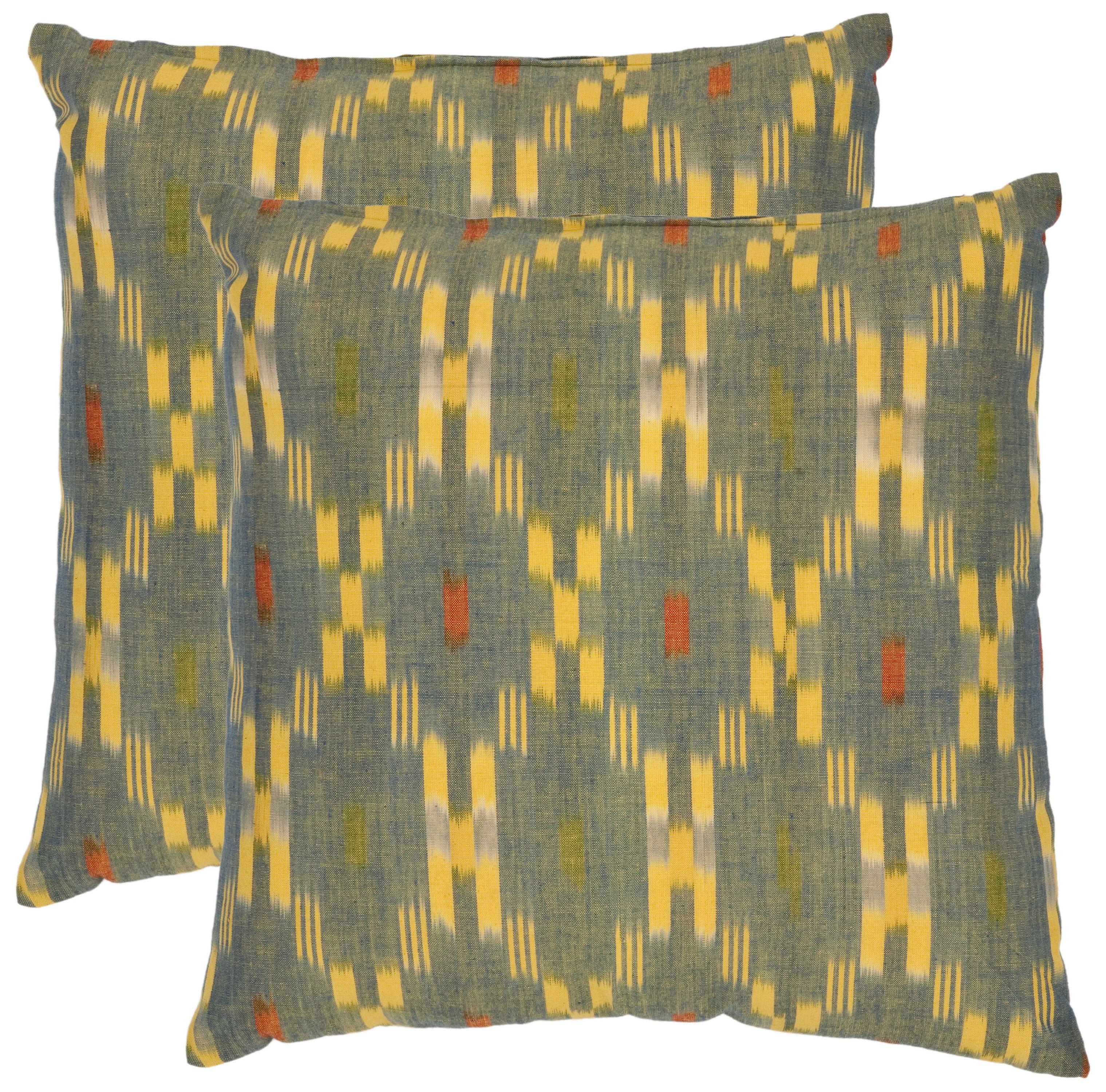 Safavieh Jay Geometric Pillow, Set of 2