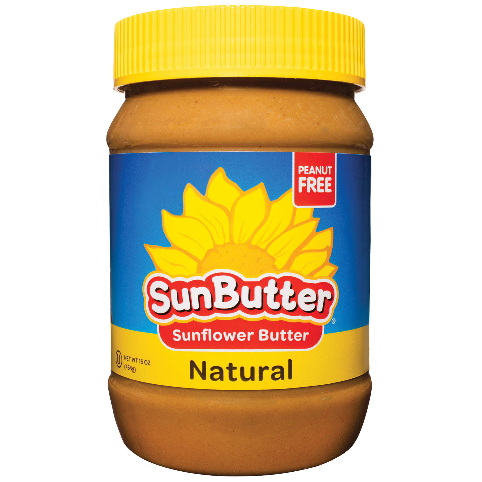 Sunbutter Natural Sunflower Seed Spread, 16 oz (Pack of 6)