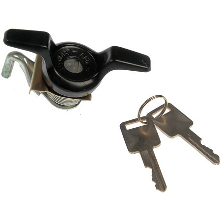 HELP! 77101 Chevrolet/GMC/Oldsmobile Black Tailgate Handle with Lock, Rear door lock with key and code By - Oldsmobile Handle