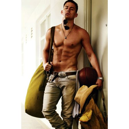Channing Tatum Poster 24In X 36In