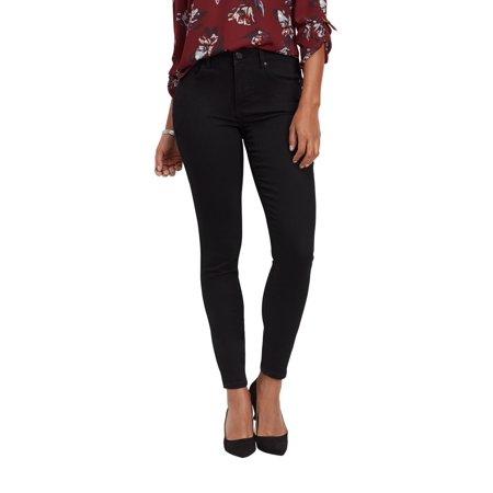 c6b408ee9 maurices - Maurices High Rise Skinny Jean - Everflex Women's Black Stretch  - Walmart.com