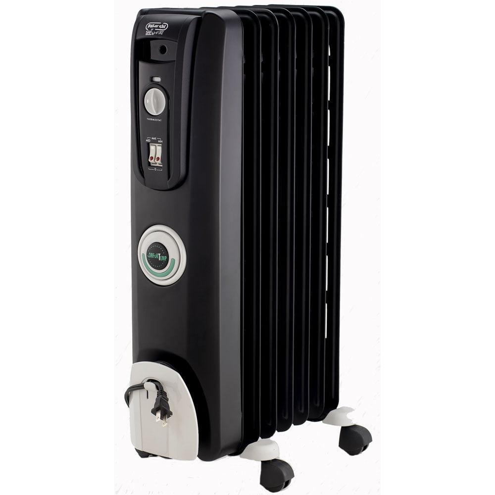 Delonghi safe heat oil filled radiator - Delonghi Safeheat 1500 Watt Comfortemp Portable Oil Filled Radiator Black Walmart Com