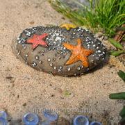 Georgetown Home & Garden Miniature Fairy Garden Starfish on a Rock