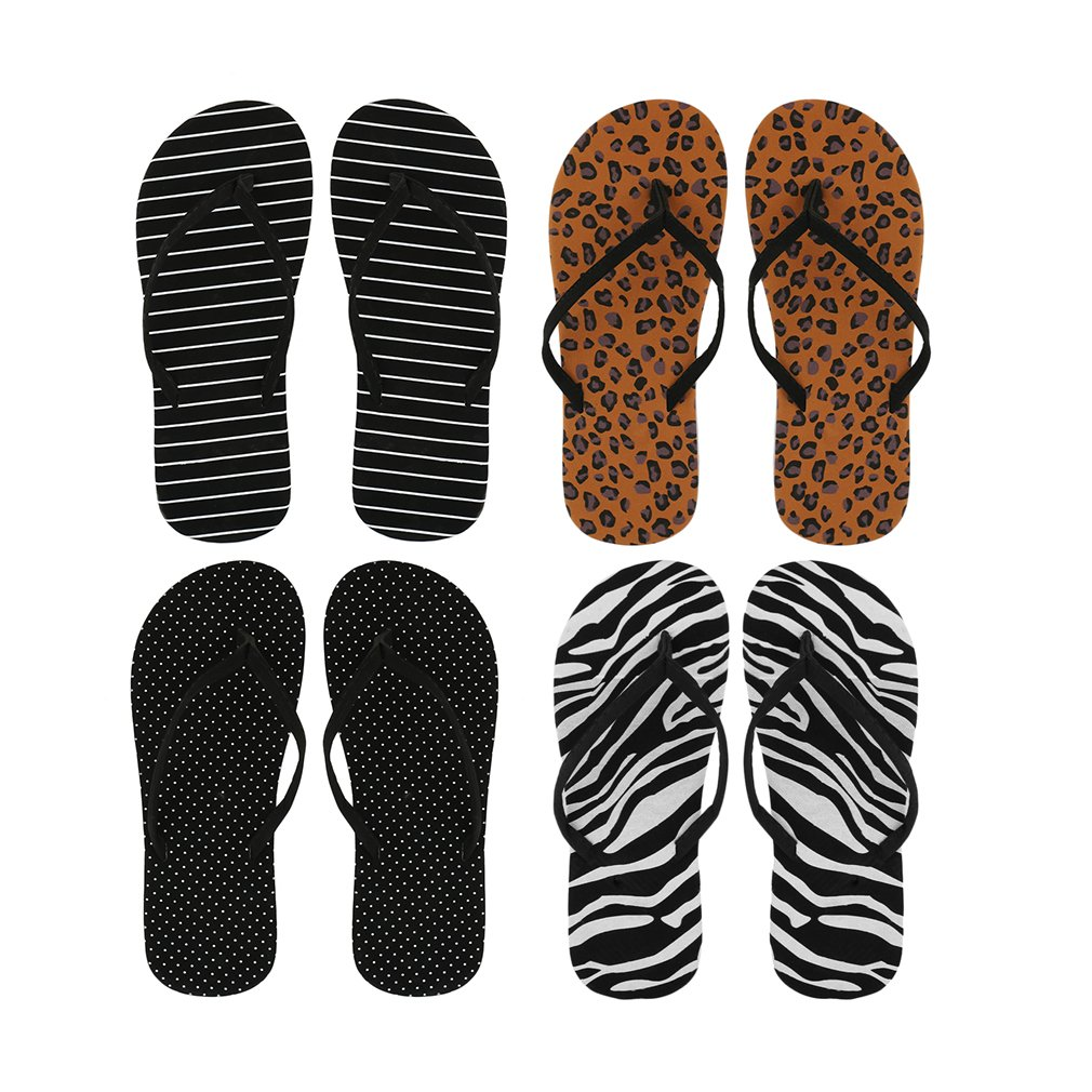 OUTAD Womens Summer Fashion Beach Flip Flops Thong Flat Sandals Slipper Girls Shoes