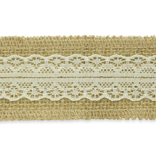 Expo Int'l 5 Yards of Brooke Jute Lace Trim