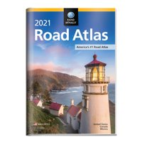 Rand McNally 2021 Road Atlas with Protective Vinyl Cover (Paperback)