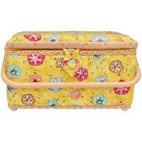 Allary Sew Basket Fabric Lg Rectangle