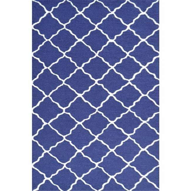 The Rug Market 71197B 2.8 x 4.8 in. Lattice Area Rug - Grey & White - image 1 of 1