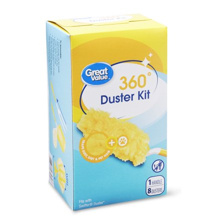 Crocheted Duster - Great Value 360° Duster Kit, 9 Count