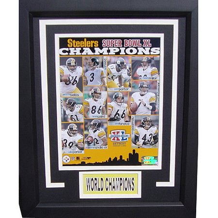 NFL Pittsburgh Steelers Champions Deluxe Frame, 11x14
