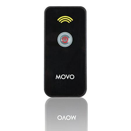 Movo Photo IR Remote Control Shutter Release for Canon EOS Digital Rebel SL1, XSi, XTi, T6s, T6i, T5i, T4i, T3i, T2i, EOS-M, 5D MK III, 5DS, 6D, 7D, 60D, & 70D DSLR Cameras ()