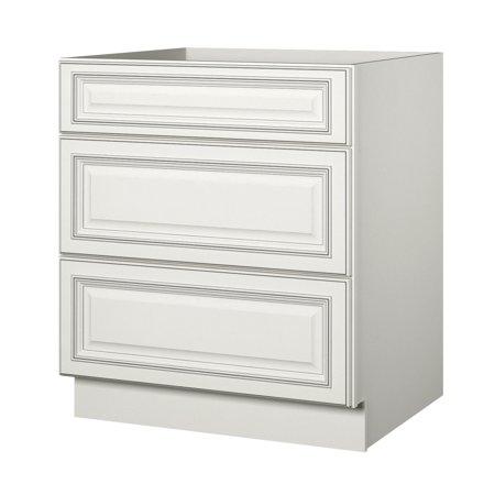 Sunny Wood Slb30d A Sanibel 30 Drawer Base Cabinet Walmart Com