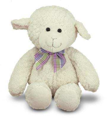 Melissa & Doug Lovey Lamb Stuffed Animal (16 inches)