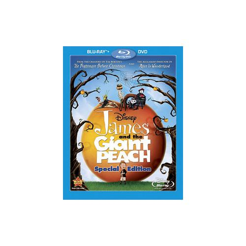 JAMES & THE GIANT PEACH (SPECIAL EDITION) (BR/DVD COMBO PACK/SP-FR-SUB)