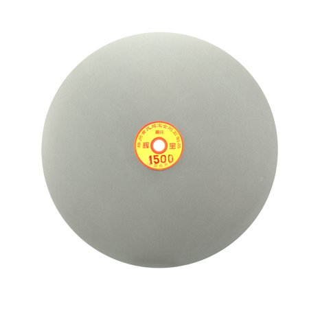 250mm 10-inch Grit 1500 Diamond Coated Flat Lap Disk Wheel Grinding Sanding Disc