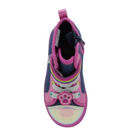 Nickelodeon Paw Patrol Casual High-Top Sneaker (Toddler Girls)