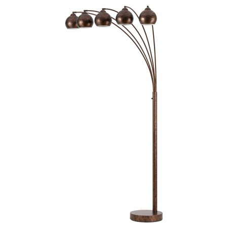 Cal Lighting Bo 2030 5l Arc Floor Lamp With Metal Shade