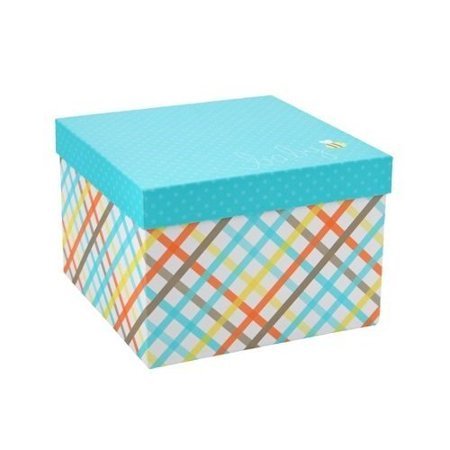 Spritz Gift (Set of 2 Patterned 10-Inch Baby Gift Boxes by Spritz)