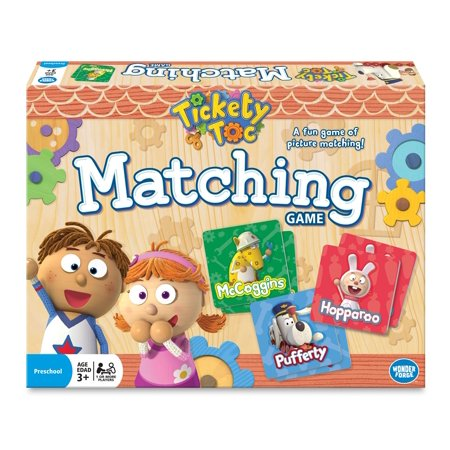 Tickety Toc Matching Game - Halloween Pumpkin Matching Game