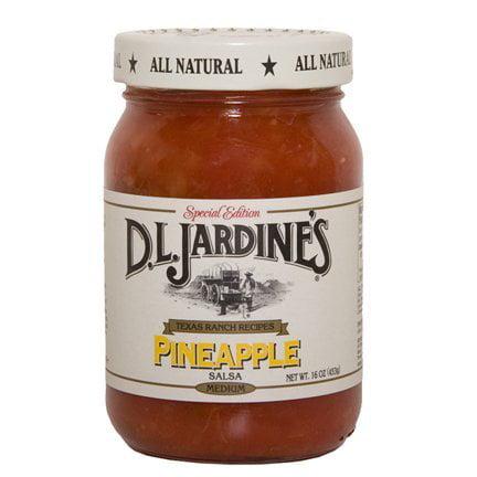 Jardines Salsa Pineapple 16 OZ (Pack of 6)