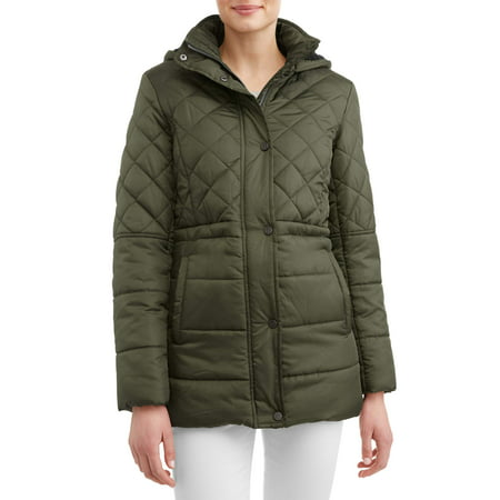 - Women's Quilted Anorak Puffer Coat