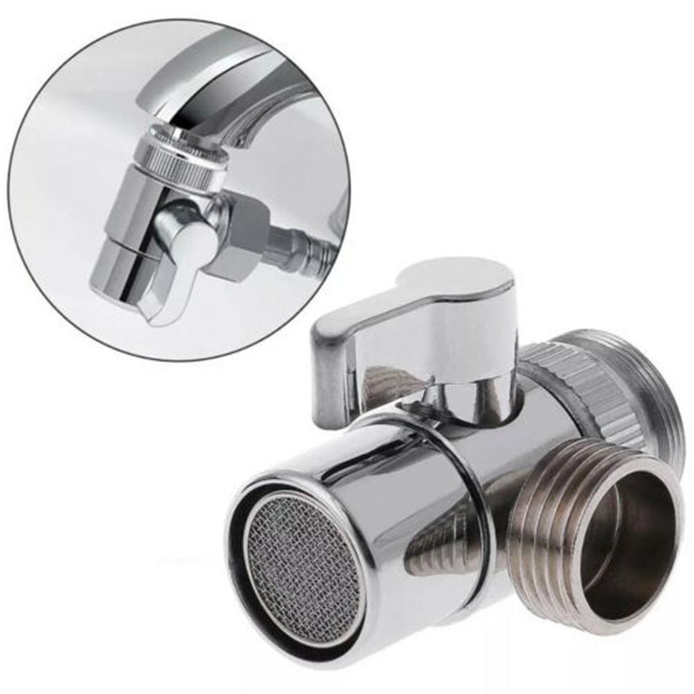 Toilet Bathroom Brass Sink Valve Diverter Faucet Splitter Hose Adapter M22 X M24 Walmart Com Walmart Com