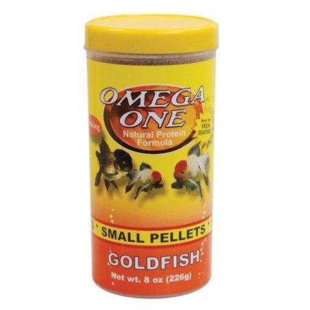 Omega One Goldfish Pellets - Small - 8 oz ()