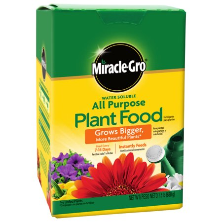 Miracle-Gro All Purpose Plant Food, 1.5 LB 1.5 Lb Bloom Booster