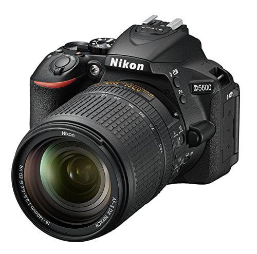 Nikon D5600 24.2 MP DX-format Digital SLR Camera Black w/ AF-S DX NIKKOR 18-140mm f/3.5-5.6G ED VR