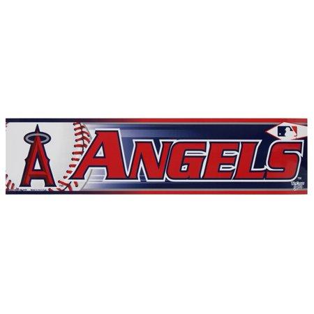 Anaheim Angels - Logo & Name Bumper Sticker