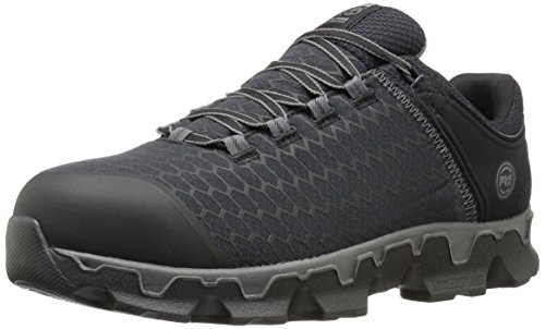 Timberland PRO Men's Powertrain Sport Alloy Toe EH Industrial and Construction Shoe, Black Synthetic, 14 W US by Timberland PRO