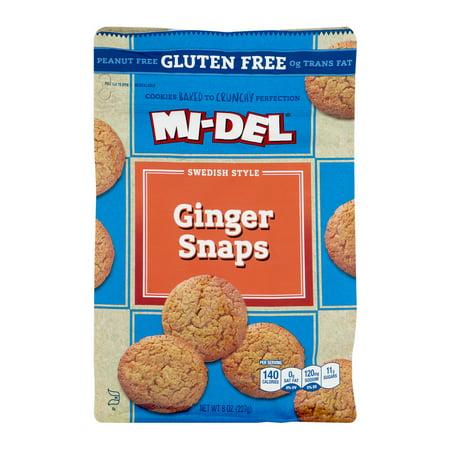 Mi Del Gluten Free All Natural Ginger Snaps
