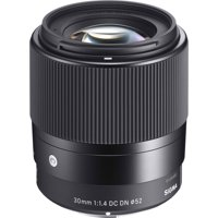 Sigma 30mm f/1.4 Contemporary DC DN Lens (for Sony Alpha E-Mount Cameras)