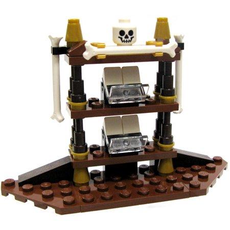 LEGO Pirates of the Caribbean Items Gothic Shelf with Bones & Skull