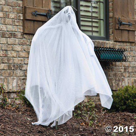 Halloween Ghost Front Yard Decoration Light Up LED (Cheap Yard Decorations For Halloween)