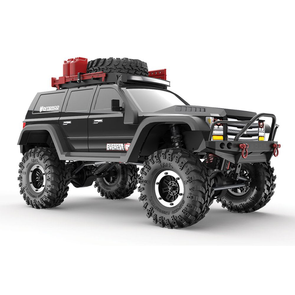 Redcat Racing Gen7 Pro 1:10 Scale 4WD Electric Off Road RC Crawler Truck, Black by Redcat Racing
