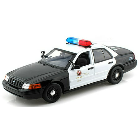 Police 2007 Ford Crown - Ford Crown Victoria Los Angeles Police LAPD 1/18 Diecast Car Model by Daron