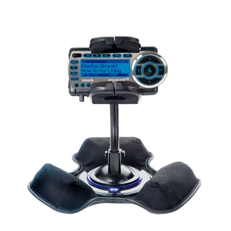 Bean Bag Dashboard Mount - Car / Truck Vehicle Holder Mounting System for Sirius StarMate ST2 Includes Unique Flexible Windshield Suction and Universal Dashboard Mount Options