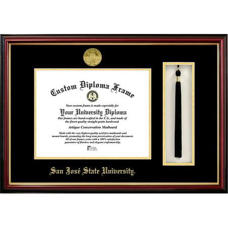 "San Jose State University 8.5"" x 11"" Tassel Box and Diploma Frame"