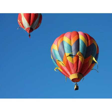 Hot Air Balloon Fiesta Albuquerque - Canvas Print Albuquerque Balloon Fiesta Balloons Hot Air Balloon Stretched Canvas 10 x 14