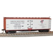 Accurail 4902 HO North Western Refrigerator Line 40' Wood Reefer